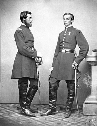 France and the American Civil War - Philippe and his brother Robert d'Orléans served as officers for the Union.