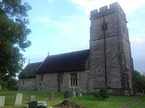 Parish church of St Hilary, Llanfair.JPG