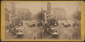 Park Row from Tryon Row, the City Hall Park on the right, showing the Times Building, and a distant view of St. Paul's Church, by E. & H.T. Anthony (Firm) 3.png