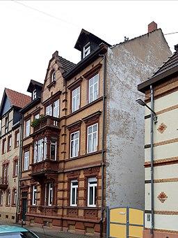 Parkstraße in Heidelberg