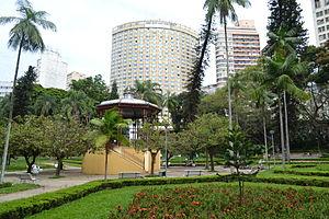 Parque Municipal em Belo Horizonte