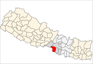 Parsa District - Location of Parsa