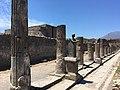 """Particolare del Tempio di Apollo """"Scavi archeologici di Pompei"""".jpg"""