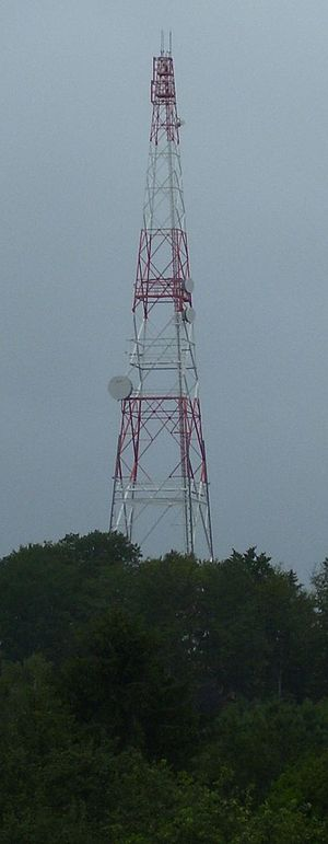 Patch Barracks - Former Radio Relay Tower of Patch Barracks