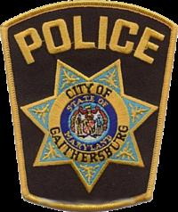 Gaithersburg City Police Car