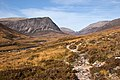 Path in Glen Dee below Creagan nan Gabhar - geograph.org.uk - 1546675.jpg