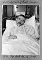 Patient paralysed by gunshot wound. Wellcome L0025837.jpg