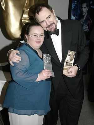 Brian Cox (actor) - Cox with Paula Sage receiving her BAFTA award