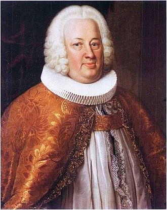 Peder Hersleb - Portrait from 1757