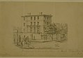 "Pencil Drawing, ""Residence and Headquarters of Gen'l Fremont in St. Louis"" by Alexander Simplot.jpg"