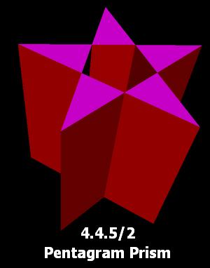 Pentagrammic prism - Image: Pentagram prism