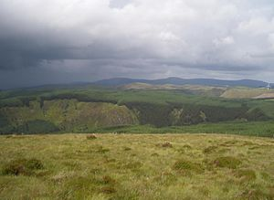 Cambrian Mountains - Image: Penyfagrn