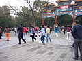 People in Chinese park 1.JPG
