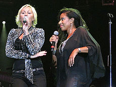 Pepsi and Shirlie at the Liverpool Echo Arena 25 June 2011.jpg