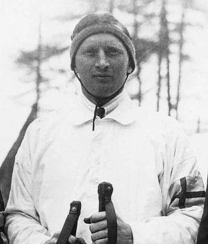 Per-Erik Hedlund - Hedlund at the 1928 Olympics