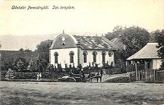 Perechyn - Image: Perecseny (Perechyn),synagogue