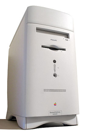 Macintosh Performa - A Macintosh Performa 6400, one of the few Performas in a tower case