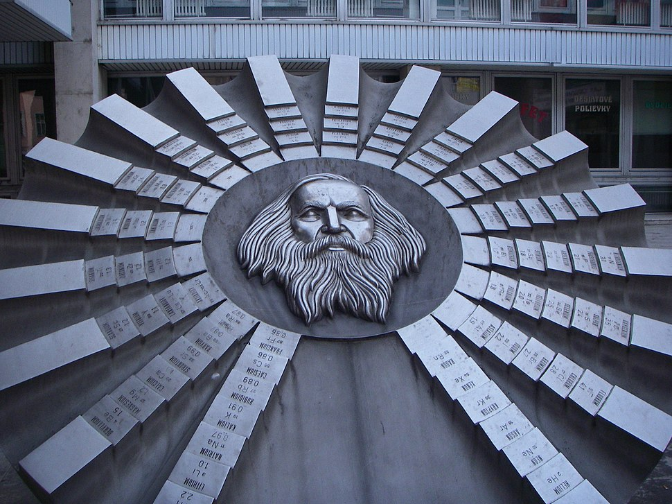 Periodic table monument