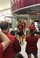 Perth Wildcats arrive at Perth Airport 9.jpg