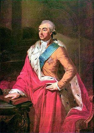 Czartoryski - Adam Kazimierz Czartoryski; portrait by Józef Peszka