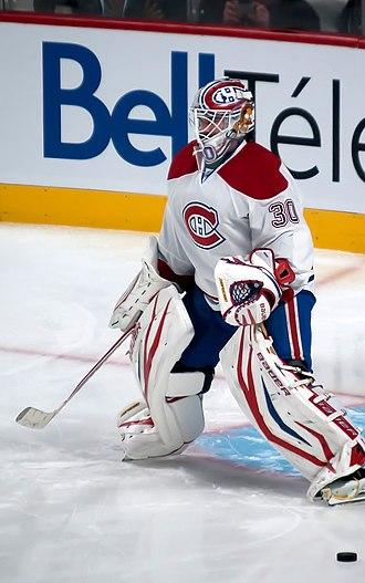 Peter Budaj - Budaj while playing for the Montreal Canadiens