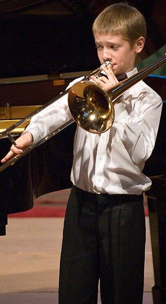 Peter Moore (trombonist) - Moore in 2007