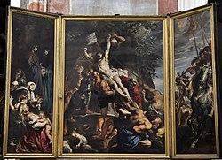 Peter Paul Rubens (1577-1640) De kruisoprichting - Onze-Lieve-Vrouwekathedraal (Antwerpen) 12-07-2010 14-49-48.JPG
