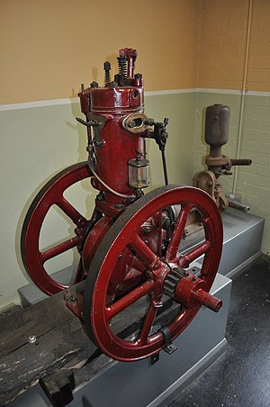Fairbanks-Morse - Fairbanks Morse Type T gas engine
