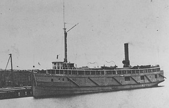 SS Pewabic - The Pewabic prior to her sinking
