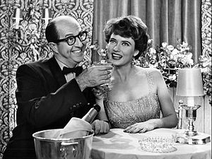 Julie Wilson - Wilson with Phil Silvers in an episode of The Phil Silvers Show in 1958