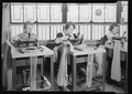 Philadelphia, Pennsylvania - Hosiery. Minnesac Mills. (Three women working at machines.) - NARA - 518690.tif