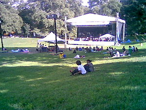 Clark Park - Image: Philadelphia Orchestra in Clark Park
