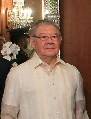 Philippine House of Representatives elections, 2016 - Image: Philippine House Speaker Feliciano Belmonte