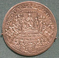 Piastra d'argento di papa innocenzo xii, 1696.JPG