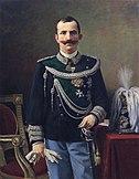 Pier Celestino Gilardi-ritratto del re vittorio emanuele III