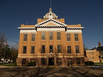 Pierce County, North Dakota - Image: Pierce County Courthouse ND 2008