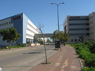 M-Systems - The former M-Systems HQ, now a SanDisk facility