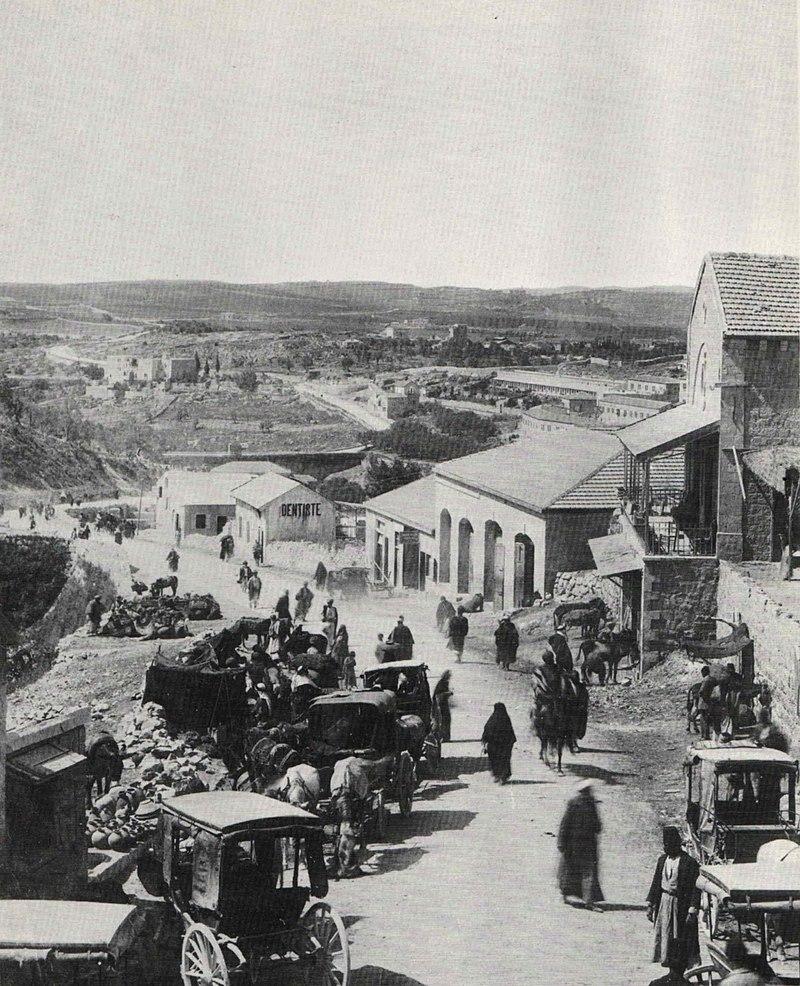 מחוץ לשער יפו בירושלים