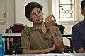 Pinaki Biswas Talks - West Bengal Wikimedians Strategy Meetup - Kolkata 2017-08-06 1635.JPG