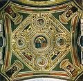 Pinturicchio, volta del coro di santa maria del popolo, incoronazione della vergine, evangelisti, sibille e dettori della chiesa, 1509-1510.jpg