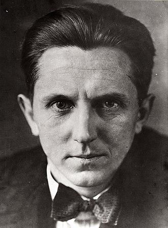 Erwin Piscator - Portrait of Piscator, c. 1927
