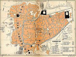 העיר העתיקה בקירואן (1903)