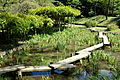 Plank bridge - Koishikawa Korakuen - DSC09252.JPG