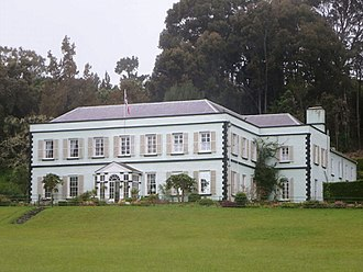 Saint Paul's, Saint Helena - Image: Plantation House (16431883766)