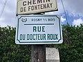 Plaque Rue Docteur Roux - Rosny-sous-Bois (FR93) - 2021-04-15 - 2.jpg