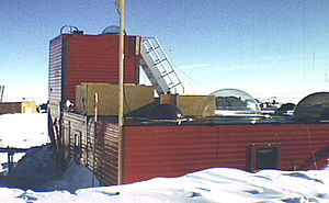 Plateau Station - Plateau Station Antarctica in 1968