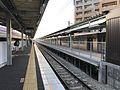 Platform of Yusu Station 3.jpg