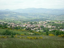 A view of the village of Plats