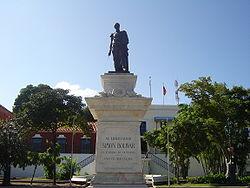Monumento a Bolívar en Ciudad Bolivar