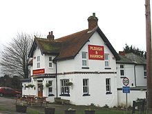 Plough & Harrow public house, Tilmanstone.jpg
